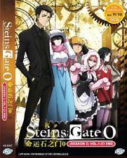 DVD Anime Steins; Gate 0 (ZERO) Season 2 TV Series (1-23 End) English Audio DUB