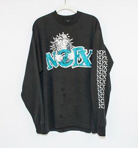 Vintage 1994 NOFX Tour Long Sleeve Shirt XL! RARE!!!