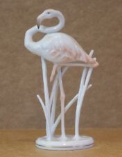 ### DELICATE PORCELAIN FLAMINGO BY ROSENTHAL ###