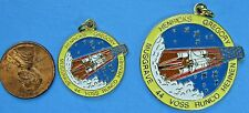 NASA LOT of 2 vtg - PENDANT CHARMS - STS-44 Voss Runco Henricks Musgrave Hennen