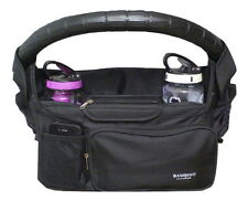 Pram Caddy Universal Stroller Organiser 7 pockets Bambino Essentials Aust Seller