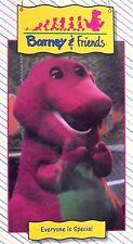 NEW SEALED Barney & Friends EVERYONE IS SPECIAL Time Life Video VHS 1992 OOP