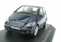 SCHUCO - Mercedes-Benz A-Class 2004 - W 169 - blue metalic - 1:43 Model Car W169