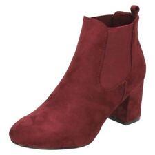 Stivali e stivaletti da donna rossi sintetici Numero 39