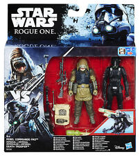 Star Wars Rogue One Rebel Commando Pao / Imperial Death Trooper Action Figure