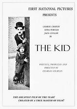 Charlie Chaplin poster The Kid