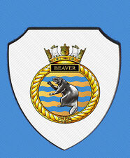 HMCS BEAVER ROYAL CANADIAN NAVY WALL SHIELD