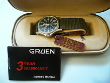 USA WATCH MILITARY WWII GRUEN 1995 COMMEMORATIVE VICTORY SPECIAL EDITION,rare