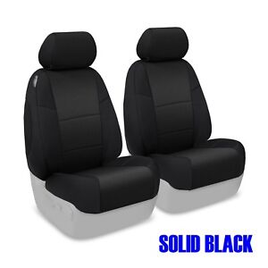 Toyota Yaris Sedan Tailored Front & Rear Neosupreme Seat Covers from Coverking