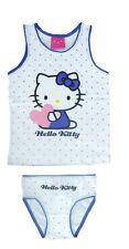 Ropa Interior 2 piezas set niñas Camisa SLIP Hello Kitty 98-104 110-116 122-128