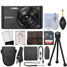 Sony Cyber-shot DSC-W830 20.1MP Digital Camera Black + 16GB Accessory Kit