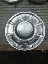 Vintage Ford Chrome Hub Cap Rat Rod Man Garage Wall art