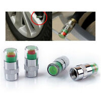 4PCS Lot Car Auto Tire Pressure Monitor Valve Stem Caps Sensor Indicator Alert