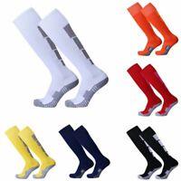 Chaussettes longues des sports en coton avec base de football Baseball Hockey FR