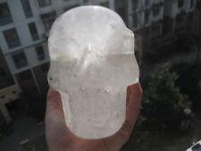 3170g (7lb)   Natural   Quartz Crystal Skull Healing From China   p682