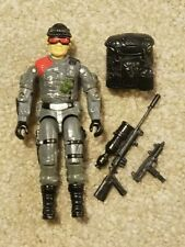 GI Joe Low Light Night Spotter 1986 Action Figure Pistol Sniper Rifle Backpack