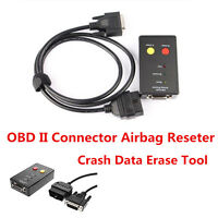 Portable OBD II Connector Airbag Reseter And Crash Data Erase Tool