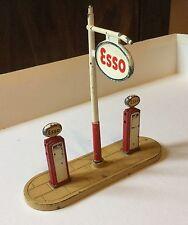 Distributore Benzina Esso Dinky Toys Meccano Anni 50 Scala H0 Vintage