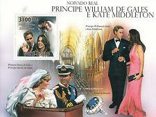 Guinea-Bissau Guine-Bissau 2011 MNH Royal Engagement 1v S/S Prince William Kate