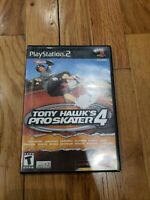 Tony Hawk's Pro Skater 4 - PS2 - Sony PlayStation 2, 2002game and case tested