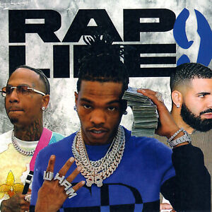 "BABY, YSL, MONEYBAGG, SHIESTY, POLO, DRAKE- ""RAP LIFE 9"".. MIX CD. SUMMER 2021"