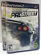 Need for Speed Pro Street N4S Sony PlayStation PS2 RACING VIDEO GAME NO MANUAL