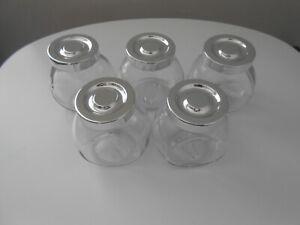 IKEA small storage jars with lids set of 5
