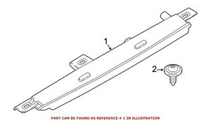 For BMW Genuine Center High Mount Stop Light Rear 63257297446