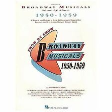 Broadway Musicals Show by Show 1950-1959 Piano & Vocal Sheet Music Hal Leonard
