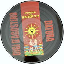 Picture VINILE Gigi D'Agostino e Datura Summer of rare-Limited Edition