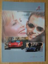 CALLAWAY IVM C12 Coupe & Convertible orig c2000 Sales Brochure - Corvette power