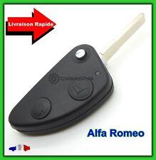 Coque Télécommande Plip Clé Alfa Romeo 2 Boutons  147 156 166 GT