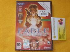FABLE The lost Chapters  NUOVO SIGILLATO x PC - DVD vers. ITALIANA prima stampa
