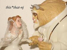 Lenox Disney Beauty and the Beast Belle's Wedding Dreams Cake Topper Figurine