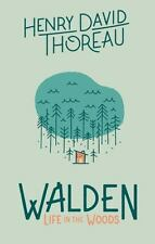 Walden: Life in the Woods by Henry David Thoreau Hardcover Book
