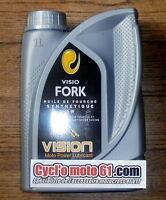1L Huile de Fourche Moto Racing synthétique Visio 10W
