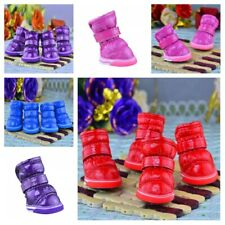 Winter Warm Pet Booties Anti Slip Shoes Dog Puppy Snow Protective Boots Supplies