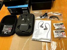Sennheiser IE 80 S Earphone Wired Control Adjustable Bass In-Ear Earbud