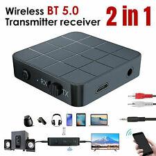 Adattatore musicale RCA da 3,5 mm per ricevitore audio wireless Bluetooth 2 in1