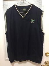 Weatherproof Men's Wind/Water Resistant Blue Golf Vest Size XL Style No. 618