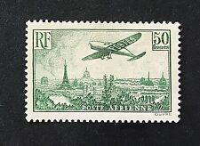 France 1936 ***Survol de Paris*** PA N° 14 *** Neuf Sans Charnière TTBE v/détail