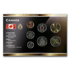 2006-2012 Canada 1 Cent-2 Dollar 7-Coin Set Unc - SKU #69068