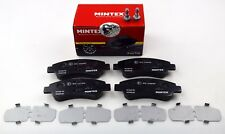 MINTEX FRONT AXLE BRAKE PADS FOR CITROEN PEUGEOT MDB2628 (REAL IMAGE OF PART)