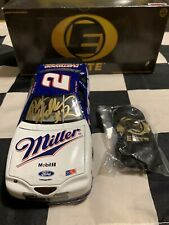 1997 Rusty Wallace Autographed Action Elite #2  Miller Lite  Ford Japan 1/24