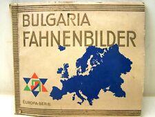 FIGURINE ALBUM Bulgheria bandiere immagini SERIE EUROPA