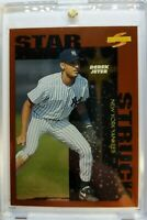 1996 96 Score Dugout Collection Star Struck Derek Jeter Rookie RC #109, Yankees