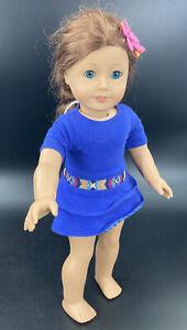 American Girl Doll of the YEAR 2013 Saige Copeland Pierced Ears Meet Dress