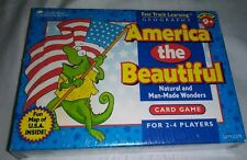 America the Beautiful Card Game By Learning Resources Natural & Man Made Wonders