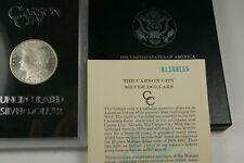 1881-CC,VAM#3  BU Morgan GSA Silver Dollar.