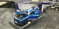 MAISTO 1:18 SPECIAL EDITION 2020 FORD MUSTANG SHELBY GT500 BLUE 31388